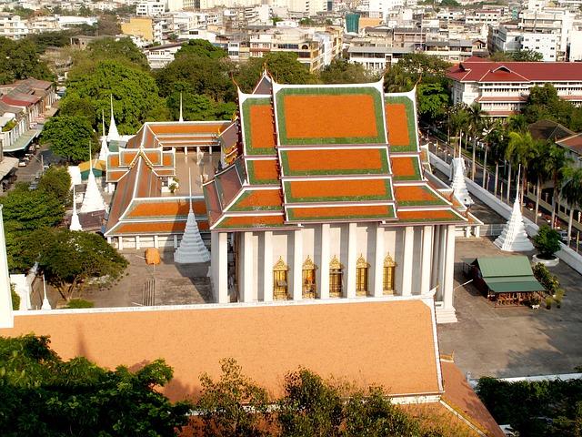 wat saket bangkok Montagne d'or ou Phu Khao Thong